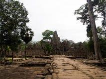Ναός Bayon σε Angkor Thom, Siemreap, Καμπότζη Στοκ Εικόνα