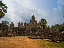 Ναός Bayon σε Angkor Thom, Siemreap, Καμπότζη Στοκ Φωτογραφίες