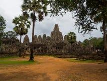 Ναός Bayon σε Angkor Thom, Siemreap, Καμπότζη Στοκ φωτογραφία με δικαίωμα ελεύθερης χρήσης