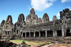Ναός Bayon σε Angkor Wat, Καμπότζη Στοκ Φωτογραφία