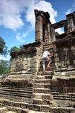 Ναός Bayon σε Angkor Wat, Καμπότζη Στοκ εικόνες με δικαίωμα ελεύθερης χρήσης