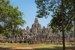 Ναός Bayon σε Angkor Wat σύνθετο Στοκ Φωτογραφία