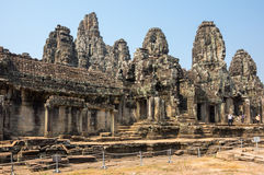 Ναός Bayon σε Angkor Wat σύνθετο Στοκ εικόνα με δικαίωμα ελεύθερης χρήσης