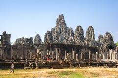 Ναός Bayon σε Angkor Wat σύνθετο Στοκ Εικόνες