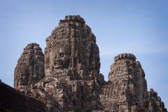 Ναός Bayon, Angkor Thom. Καμπότζη Στοκ φωτογραφία με δικαίωμα ελεύθερης χρήσης