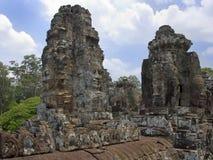 Ναός Bayon - Angkor Wat - Καμπότζη Στοκ Εικόνα