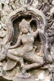 Ναός Bayon Apsara, Angkor, Καμπότζη Στοκ εικόνα με δικαίωμα ελεύθερης χρήσης