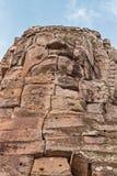Ναός Bayon Prasat σε Angkor Thom, ευτυχές πρόσωπο χαμόγελου Βούδας, ναός Bayon Στοκ φωτογραφία με δικαίωμα ελεύθερης χρήσης