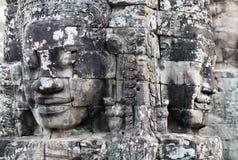 Ναός Bayon Prasat σε Angkor Thom, Καμπότζη Στοκ εικόνες με δικαίωμα ελεύθερης χρήσης