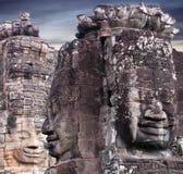Ναός Bayon Prasat σε Angkor Thom, Καμπότζη Στοκ Φωτογραφία