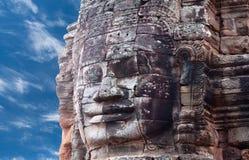 Ναός Bayon Prasat σε Angkor Thom, Καμπότζη Στοκ Φωτογραφίες