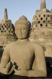 Ναός Borobudur, Ιάβα, Borobudur Στοκ Φωτογραφίες