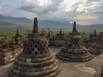 Ναός Borobudur, Ινδονησία, Ασία στοκ εικόνα με δικαίωμα ελεύθερης χρήσης