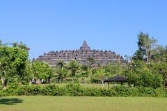 Ναός Borobudur σε Yogyakarta, Ιάβα, Ινδονησία στοκ εικόνες