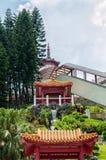 ναός 10000 buddhas Στοκ Φωτογραφία
