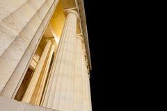 Ναός Canova της άποψης νύχτας στήλες Ρωμαίος Στοκ Φωτογραφίες