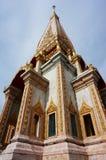 Ναός Chalong στο νησί Phuket, Ταϊλάνδη Στοκ Φωτογραφίες