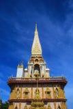 Ναός Chalong Wat σε Phuket Στοκ Φωτογραφίες