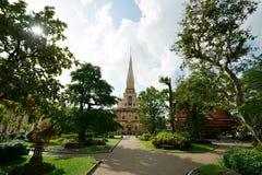 Ναός Chalong Wat Στοκ Φωτογραφίες