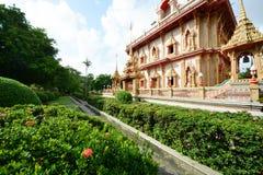 Ναός Chalong Wat στοκ φωτογραφία με δικαίωμα ελεύθερης χρήσης