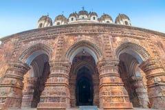 Ναός Chandra Krishna Kalna, δυτική Βεγγάλη, Ινδία στοκ εικόνα με δικαίωμα ελεύθερης χρήσης
