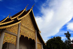 Ναός Chedi luang Στοκ φωτογραφία με δικαίωμα ελεύθερης χρήσης