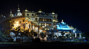 Ναός Chennai ISKCON Στοκ Φωτογραφίες