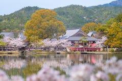 Ναός Daikaku-daikaku-ji στο arashiyama, Κιότο, Ιαπωνία Στοκ Φωτογραφία