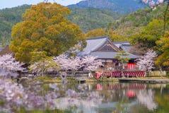 Ναός Daikaku-daikaku-ji στο arashiyama, Κιότο, Ιαπωνία Στοκ εικόνα με δικαίωμα ελεύθερης χρήσης