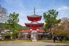 Ναός Daikaku-daikaku-ji στο arashiyama, Κιότο, Ιαπωνία Στοκ φωτογραφίες με δικαίωμα ελεύθερης χρήσης