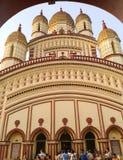 Ναός Dakshineshwar Στοκ φωτογραφία με δικαίωμα ελεύθερης χρήσης