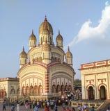 Ναός Dakshineshwar Στοκ εικόνες με δικαίωμα ελεύθερης χρήσης