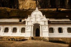 Ναός Dambulla στη Σρι Λάνκα Στοκ φωτογραφίες με δικαίωμα ελεύθερης χρήσης