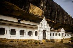 Ναός Dambulla στη Σρι Λάνκα Στοκ εικόνα με δικαίωμα ελεύθερης χρήσης