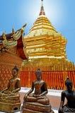ναός doi phrathat suthep wat Στοκ Εικόνα