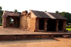 Ναός Durga σύνθετος στοκ φωτογραφία με δικαίωμα ελεύθερης χρήσης