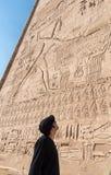 Ναός Edfu, Αίγυπτος Στοκ φωτογραφία με δικαίωμα ελεύθερης χρήσης