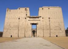 Ναός Edfu στοκ εικόνες