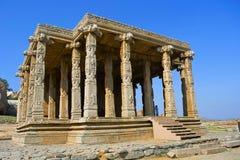 Ναός Ganesh Kadalekalu, βορειοανατολική κλίση του Hemakuta hil, Hampi, Karnataka Στοκ Εικόνες