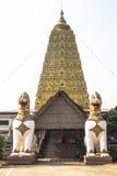 Ναός Gaya Mahabodhi Bodh Στοκ φωτογραφία με δικαίωμα ελεύθερης χρήσης