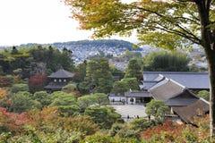 Ναός Ginkaku-ginkaku-ji Στοκ Εικόνες