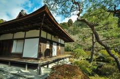 Ναός Ginkakuji, Κιότο, Ιαπωνία Στοκ Φωτογραφίες