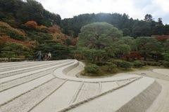 Ναός Ginkakuji, Κιότο, Ιαπωνία Στοκ εικόνες με δικαίωμα ελεύθερης χρήσης