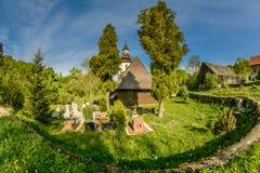 Ναός Gluszyca στην Πολωνία Στοκ Εικόνα