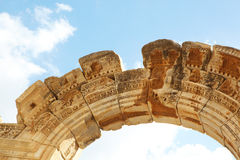 Ναός Hadrians Στοκ εικόνα με δικαίωμα ελεύθερης χρήσης