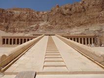 Ναός Hatshepsut, Luxor Στοκ φωτογραφία με δικαίωμα ελεύθερης χρήσης