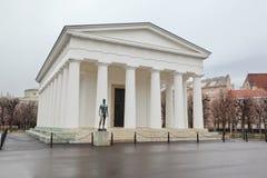 Ναός Hephaestus με το άγαλμα στη Βιέννη Στοκ φωτογραφίες με δικαίωμα ελεύθερης χρήσης