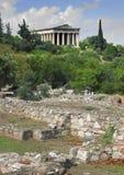 Ναός Hephaestus Στοκ φωτογραφία με δικαίωμα ελεύθερης χρήσης
