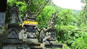 Ναός Hinduism στο Μπαλί φιλμ μικρού μήκους