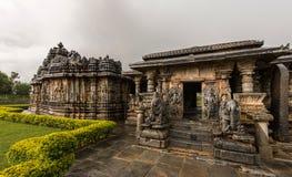 Ναός Hoysala σε Koravangla Στοκ Εικόνα
